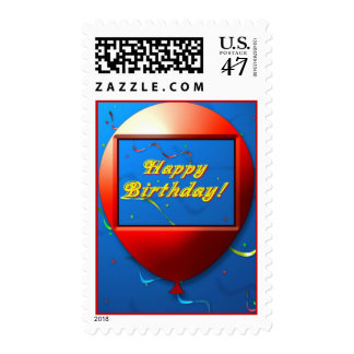 Birthday Stamp