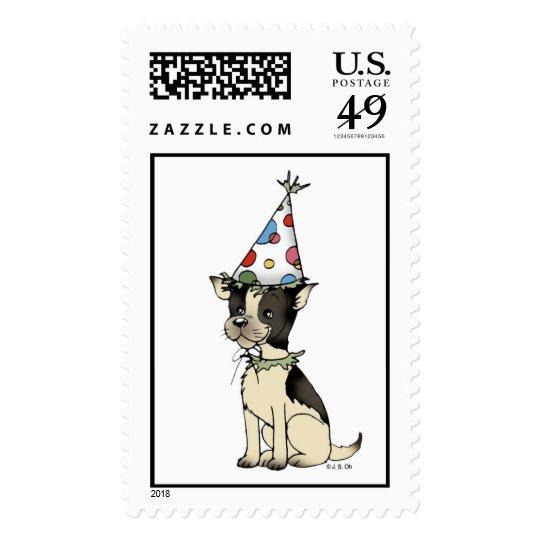 Birthday stamp