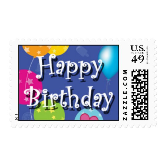 Birthday Stamps