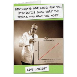 BIRTHDAY STATISTICS CARD