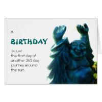 Buddha birthday cards greeting photo cards zazzle buddha birthday cards birthday statue m4hsunfo