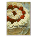 Birthday Strawberry Cake Cards