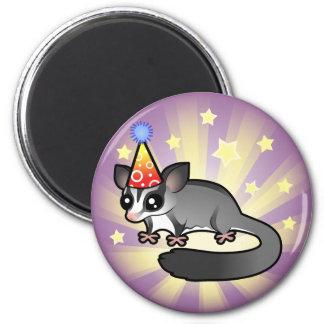 Birthday Sugar Glider 2 Inch Round Magnet