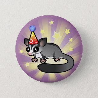 Birthday Sugar Glider Button