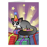 Birthday Sugar Glider Greeting Card