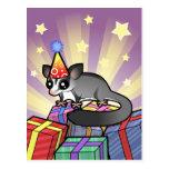 Birthday Sugar Glider Postcard