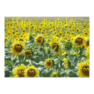 Birthday sunnies card