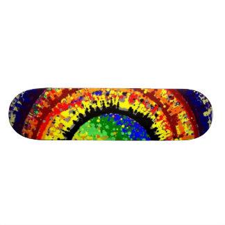 Birthday Sunset Skateboard