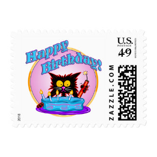 BIRTHDAY SURPRISE POSTAGE STAMPS