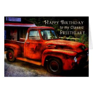Birthday - Sweetheart (Boyfriend) Card