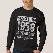 Birthday T-Shirt For 60 Yrs Old. Tee For Men/Women