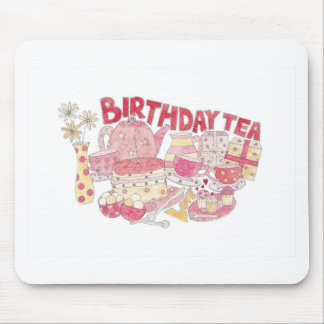 Birthday Tea Mouse Pad