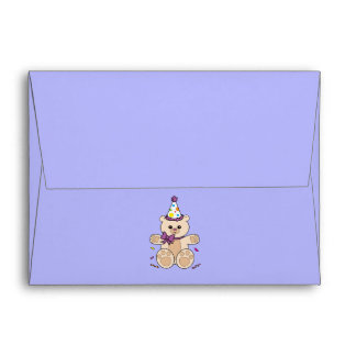 Birthday Teddy Envelope