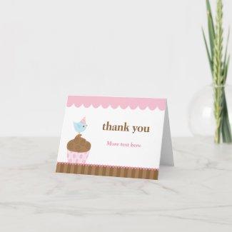 Birthday Thank You Card card