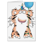 BIRTHDAY TIGER CARD