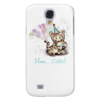Birthday Tiger Galaxy S4 Case