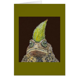 Birthday Toad card
