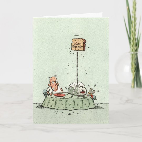 birthday toast card  zazzle