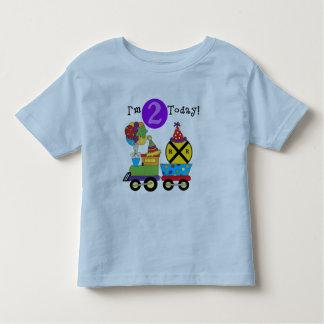 Birthday Train 2nd Birthday T-shirts and Gifts