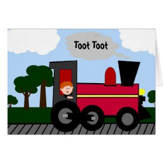 Birthday Train Custom Card