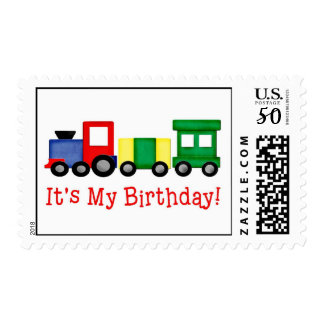 Birthday Train Postage