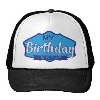 birthday trucker cap