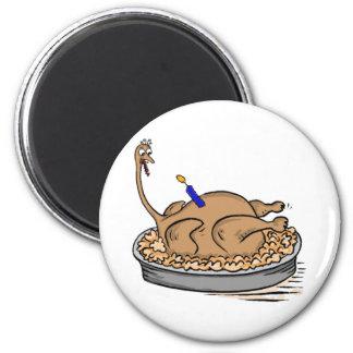 birthday turkey magnet