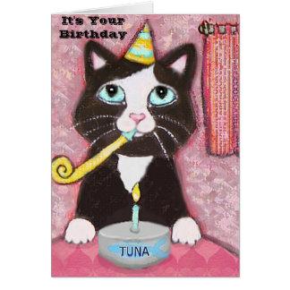 Birthday Tux ART CARD Jamie W. Edwards, It's Yo...