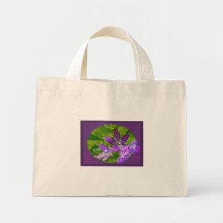 Birthday Venus Looking Glass Wildflower Floral Mini Tote Bag
