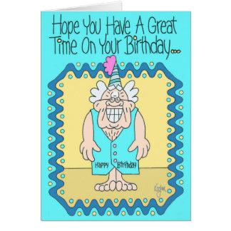 BIRTHDAY VEST Birthday Card