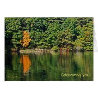 Birthday: Walden Pond Card