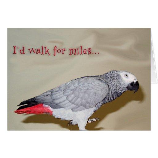 Birthday Walk For Miles Card