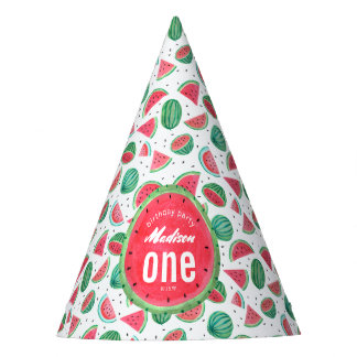 Birthday   Watermelon   Party hat