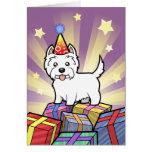 Birthday West Highland White Terrier Cards