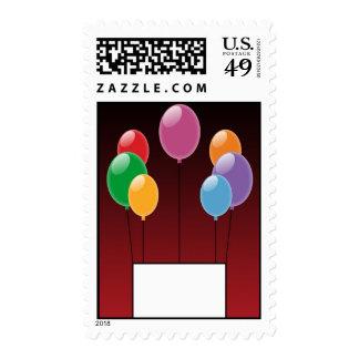 Birthday Wish Postage Stamps