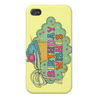 Birthday Wishes Cases For iPhone 4