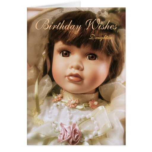 Birthday Wishes Daughter Greeting Cards