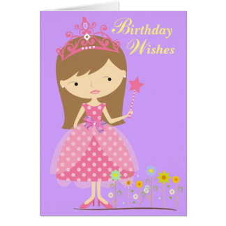 Birthday Wishes Fit for a Princess (Card) Card