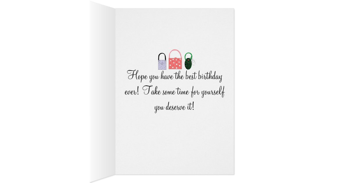 Birthday Wishes For A Classy Lady Card | Zazzle