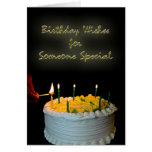 Birthday Wishes For Someone Special Greeting Cards