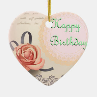 Birthday Wishes from the Heart Ornament