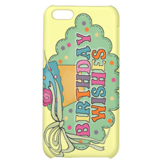 Birthday Wishes iPhone 5C Case