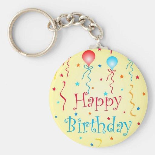 Birthday wishes - Keychain