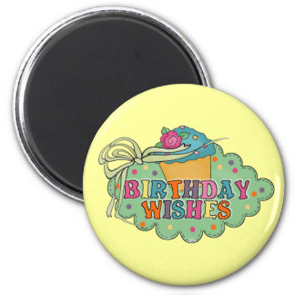 Birthday Wishes Magnets