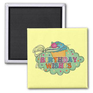 Birthday Wishes Magnet