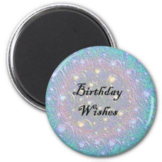 Birthday Wishes Refrigerator Magnets