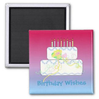 Birthday Wishes Refrigerator Magnet