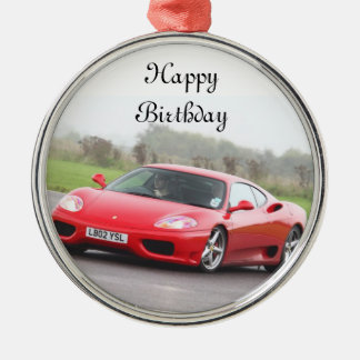 Birthday Wishes Metal Ornament