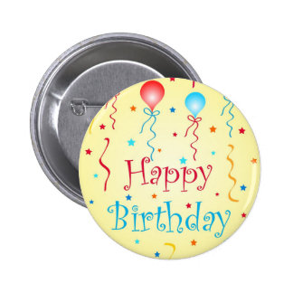 Birthday wishes - Pin button