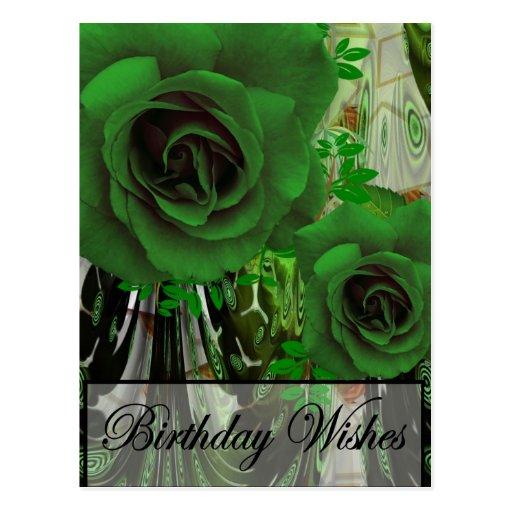 Birthday Wishes Postcard